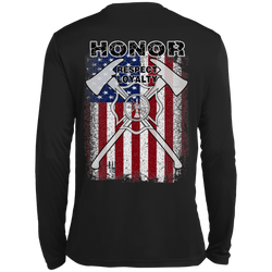 FFC 343 Honor Respect Loyalty Dri-Fit Long Sleeve Shirt