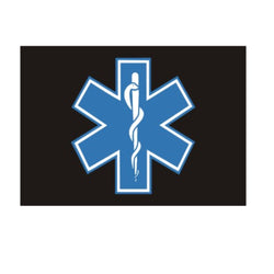 EMS Floor Mat with Star of Life