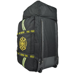 Rolling firefighter gear bag