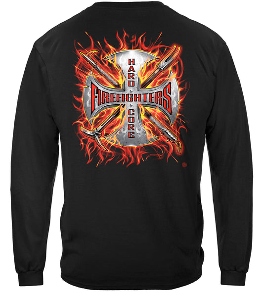 Hard Core Firefighter Long Sleeves