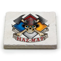Haz Mat Firefighter Coaster