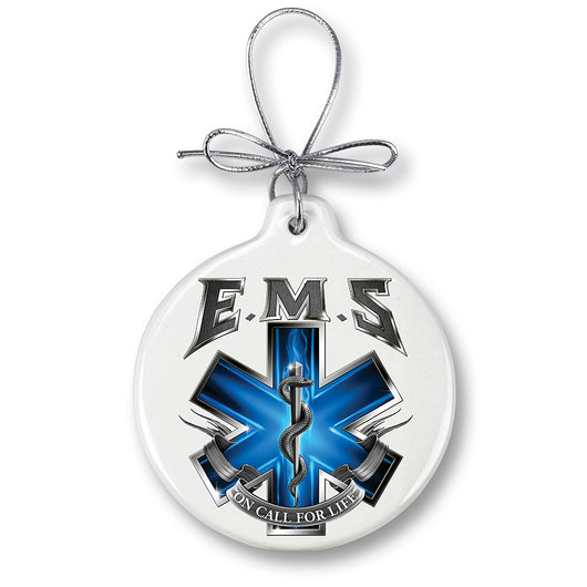 On Call For Life EMS Ornament