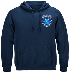 EMS On Call For Life EMS Hooded Sweat Shirt