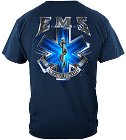 EMS On Call For Life T-shirt