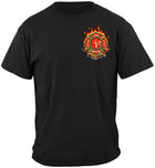 Patriotic Firefighter Tshirt