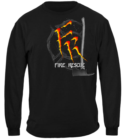 Monster Claws Fire Rescue Long Sleeves