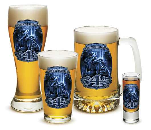 343 You Will Never Be Forgotten Glassware Gift Set