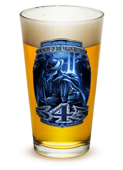 343 You Will Never Be Forgotten Pint Glass