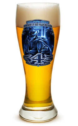 343 You Will Never Be Forgotten Pilsner Glass