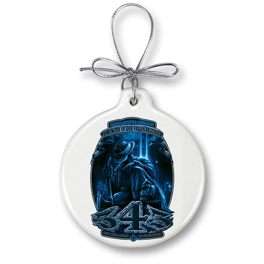 Firefighter You Will Never Be Forgotten 343 Ornament