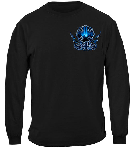 Long Sleeve 343 Honor Service Sacrifice Tshirt
