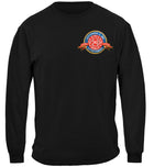 firefighter badge of honor Long Sleeves