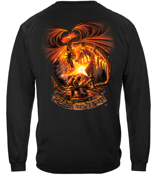 Fear No evil Dragon Long Sleeves