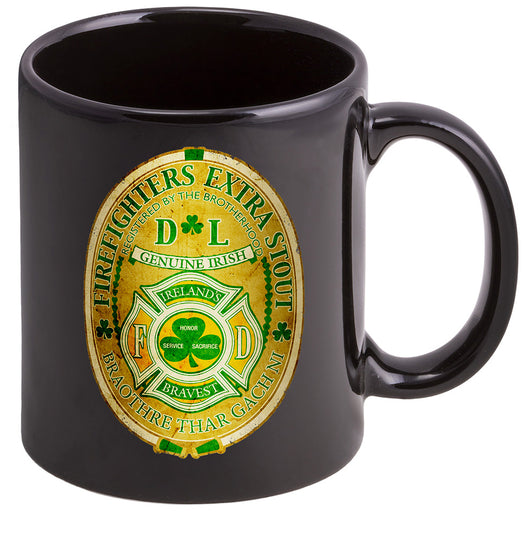 Firefighter Irelands Bravest Coffee Mugs
