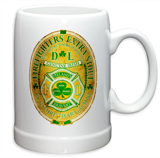 Firefighter Irelands Bravest German Beer Steins
