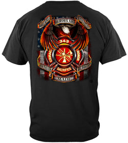 Firefighter True Heroes T shirt