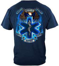 EMS Service Before Self T-shirt