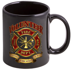 Volunteer Firefighter Coffee Mugs