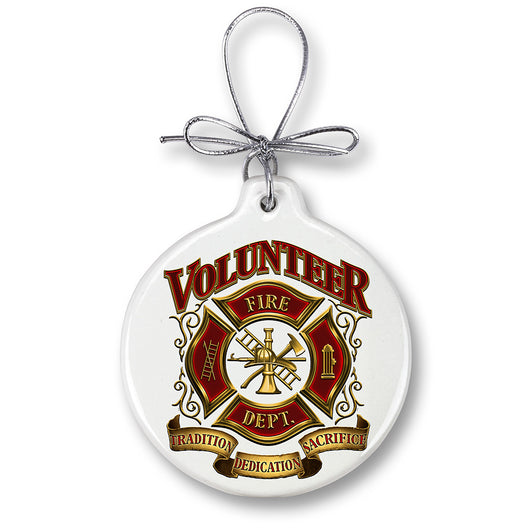 Volunteer Firefighter Ornament
