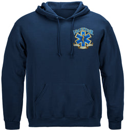 Volunteer EMS Gold Shield Hooded Sweat Shirt