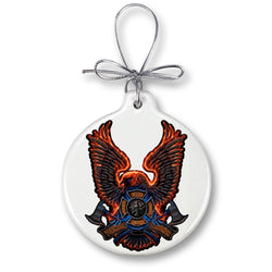 Volunteer Fire Eagle Ornament