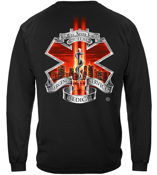 Red High Honors EMS Long Sleeves