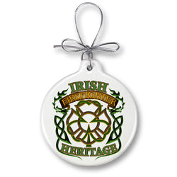 Irish Firefighter Heritage Ornament
