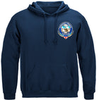 EMS Badge Of Honor Hooded Sweat Shirt