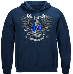 EMS Called To Serve Hooded Sweat Shirt