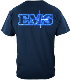 EMS Full Front Star of Life Tshirt