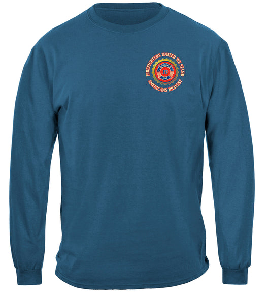 Firefighter Denim Fade Long Sleeves