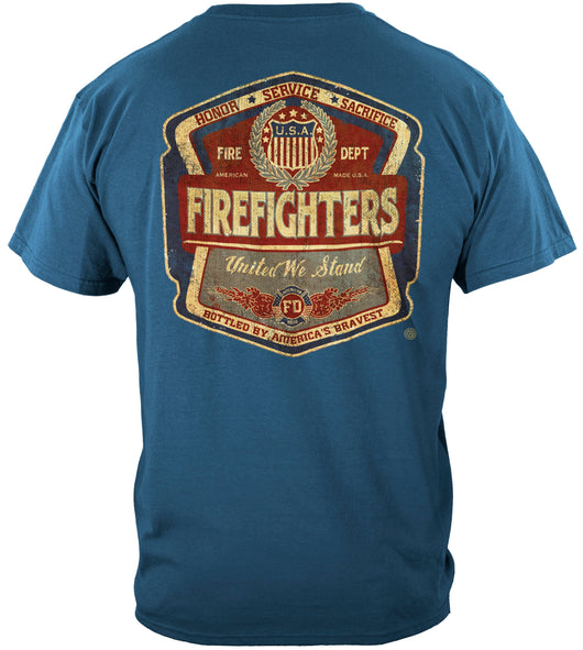 United We Stand Fire T Shirt