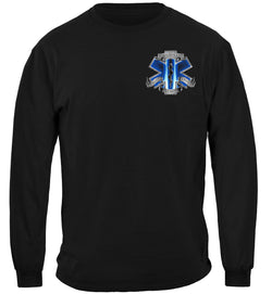 911 EMS Blue Skies We Will Never Forget Long Sleeves