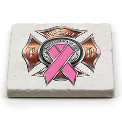 Firefighter Race For a Cure Coaster