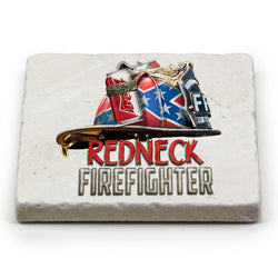 Redneck Firefighter Coaster