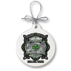 firefighter garda Ireland bravest Ornament
