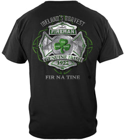 Irelands Bravest Firefighter T-shirt