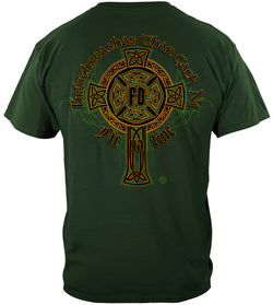 Irish Firefighter Heritage Tshirt