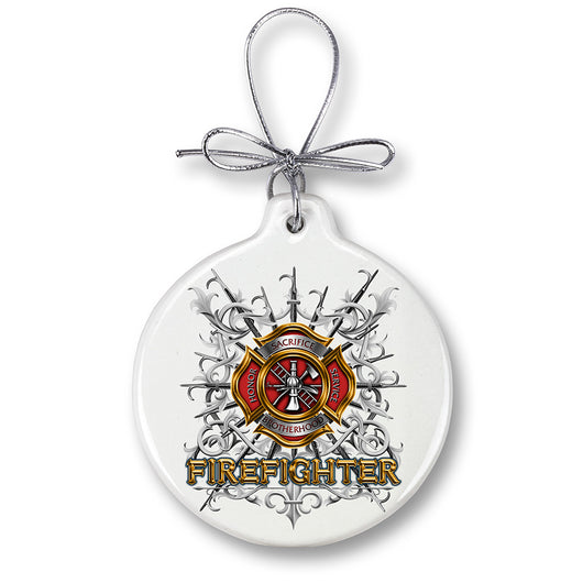 FIREFIGHTER PIKES Ornament