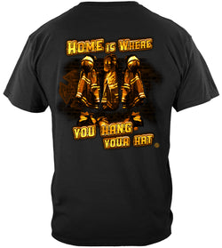 Home Is Where You Hang Your Hat Tshirt