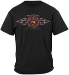 Firefighter Desire to Serve Foil Shirt