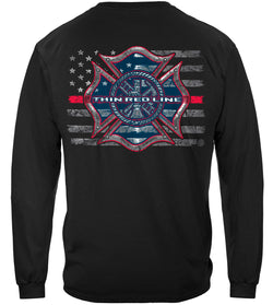 Thin Red Line Firefighter Long Sleeves