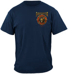 Firefighter Maltese Gold Flame Shirt