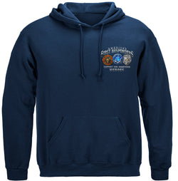 America's First Responders Hooded Sweat Shirt