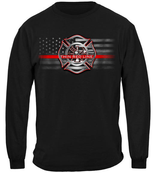 Thin Red Line Stand for the Flag Long Sleeves