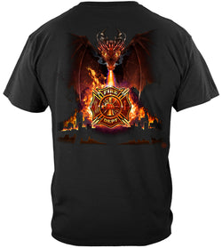 Firefighter City Dragon T-SHIRT