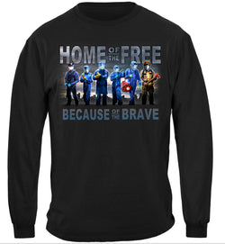 Home of The Free Medical Services Long Sleeves