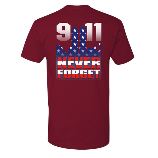 FFC 343 Never Forget 9/11 Stars And Stripes Firefighter Shirt