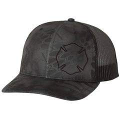 Richardson Kryptek Typhon Black Maltese Hat
