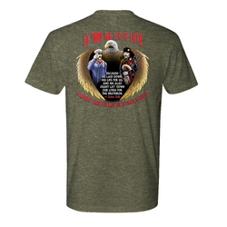 FFC 343 By This We Know Love -1 John 3:16 Premium T-Shirt
